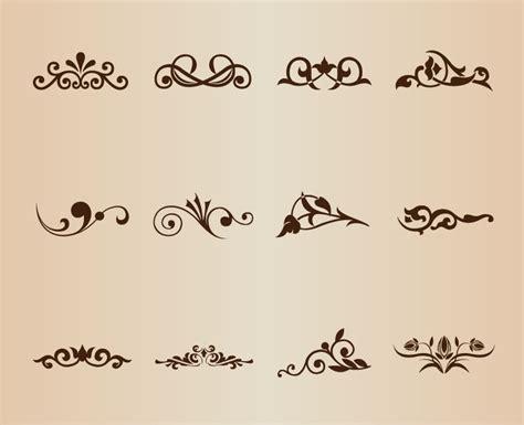 decorative design elements vector vector set decorative design elements free vector