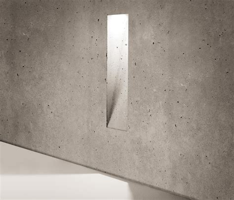 siemens illuminazione ghost vertical outdoor recessed wall lights from simes