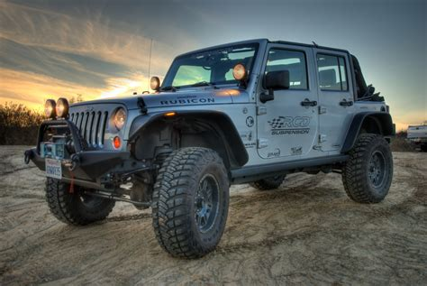 Jeep Jk 4 Inch Lift Rcd Suspension 10 45407 4 Quot Lift Kit With Bilstein Shocks