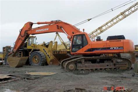 Daewoo Excavator Manual Daewoo Doosan Solar 470lc V Track Excavator Service Repair