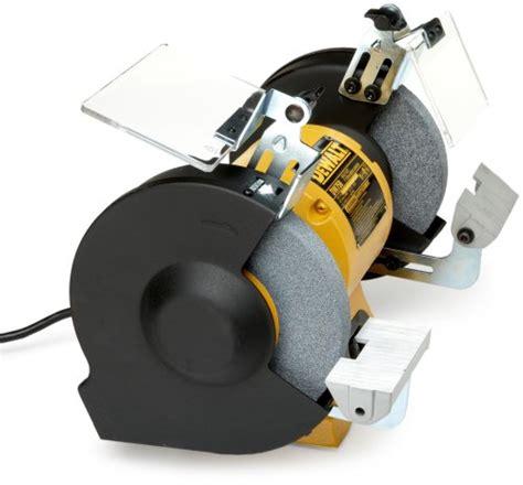 bench grinder dewalt dewalt dw758 8 inch bench grinder industrial supply