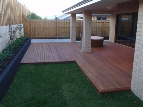Backyard Decking Ideas Australia Best 25 Timber Deck Ideas On