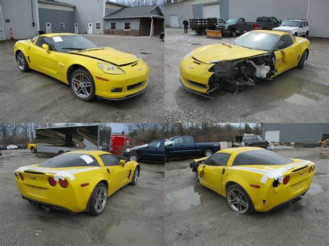 corvette c6 yellow 2008 yellow chevrolet corvette c6 z06 cleveland power