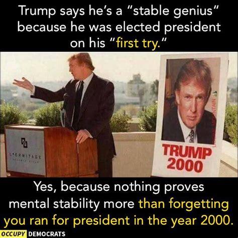 Stable Genius Meme
