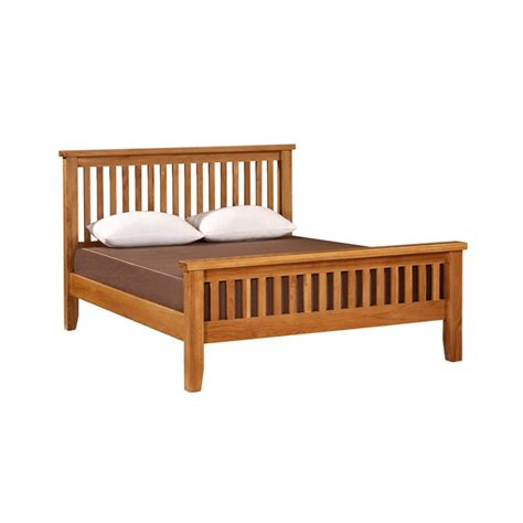 Canterbury Bed Frame Canterbury Oak 5ft King Size Bed Frame Home Style Outlet