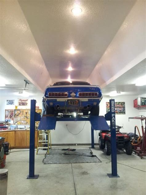 ceiling height for car lift 4 post lift ceiling height requirement corvetteforum chevrolet corvette forum discussion