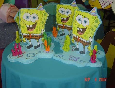 spongebob baby shower spongebob birthday quot spongebob decoration quot catch my