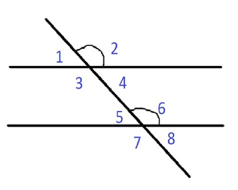Interior Angles In Real by What Are Corresponding Angles Pictures To Pin On
