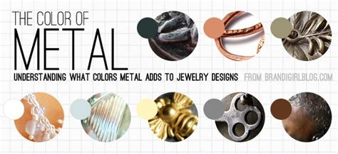color of metals bead the color of metal