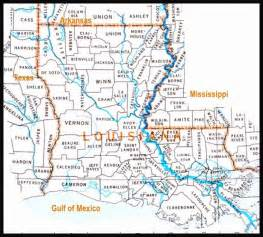 Louisiana Map With Parishes by Parishes In Louisiana Map Images