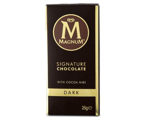 Magnum Signature Chocolate 90gr 30 x magnum signature chocolate mini bar 25g ebay