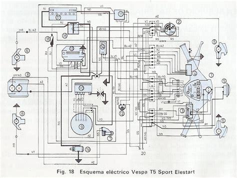 zona tecnica vespa interruptor vespa t5