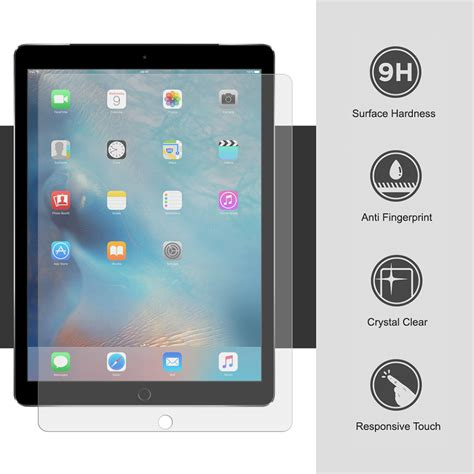 Pro 12 9 Tempered Glass Screen Protector An Diskon 9h tempered glass screen protector apple pro 12 9 inch