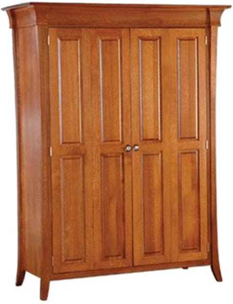 Amish Computer Armoire by Amish Banbury Computer Armoire