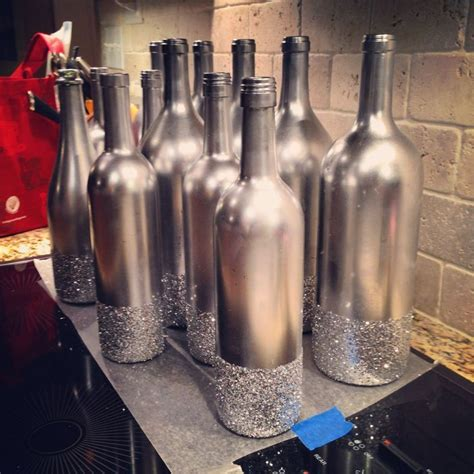 Long Neck Vases 1000 Ideas About Spray Painted Bottles On Pinterest