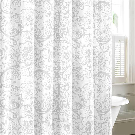light gray shower curtain nautica lamberts cove light gray shower curtain from