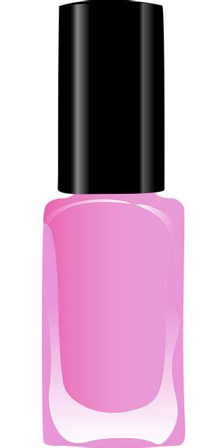 vector graphic nail polish varnish  image