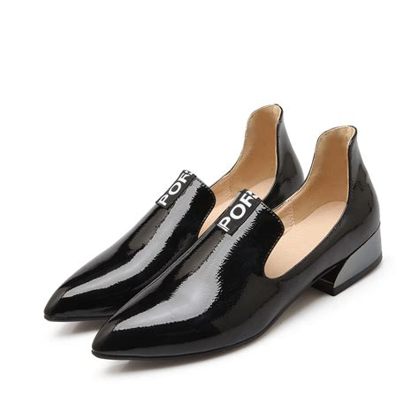 flat heel shoes for womens high quality shoes 2016 pointed toe flat heel shoes