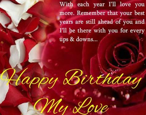 A Birthday Card For Your Love! Free Birthday Wishes eCards