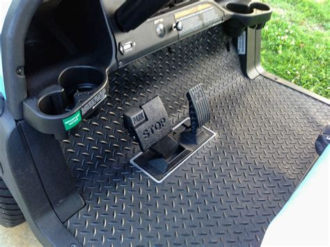 Floor Mats For Golf Carts by Golf Cart Floor Mats For Better Protection While Adding A