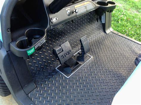 Golf Cart Mats by Golf Cart Floor Mats For Better Protection While Adding A