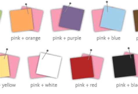 what colour goes with pink colors that go good with pink ohio trm furniture