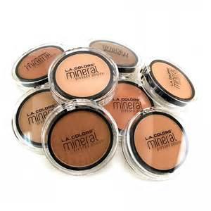 la colors foundation everyday low price la colors mineral pressed powder at