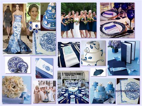 blue porcelain wedding theme fantastical wedding stylings