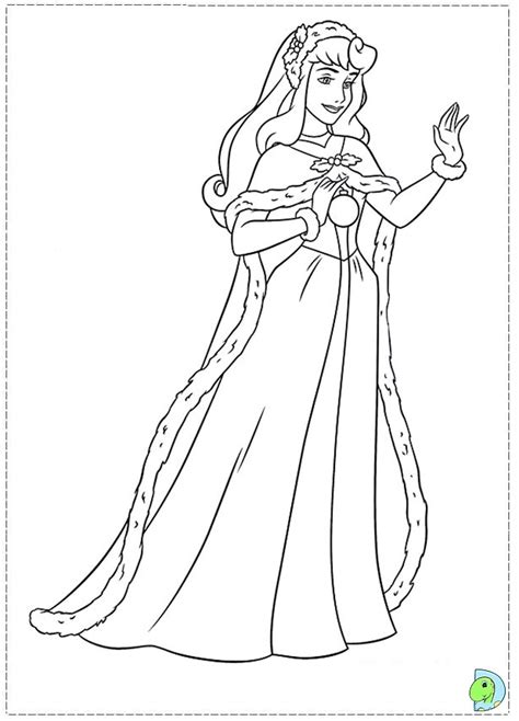 Christmas Disney Princess Coloring Page Dinokids Org Disney Princess Winter Coloring Pages Printable