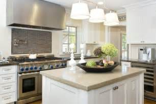 attractive Kitchen Pendants Lights Over Island #1: Unique-pendant-lights-that-offer-a-softer-light-for-this-neutral-kitchen.jpg