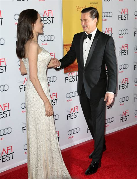 by the sea afi review angelina jolie pitt stages dreary brad pitt and angelina jolie at afi fest for by the sea