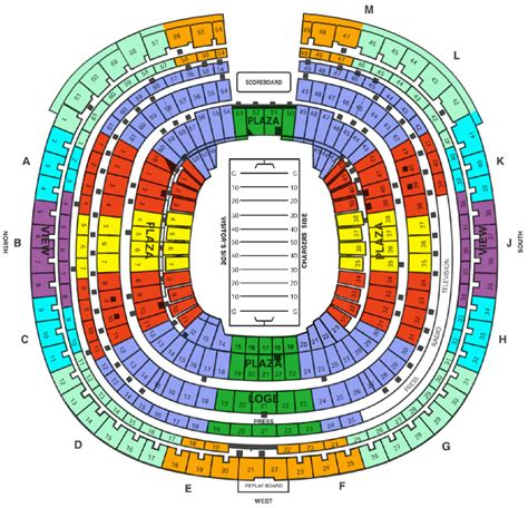 Qualcomm Stadium, Qualcomm Stadium Seating Chart, Qualcomm