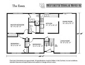 Modular Homes With Basement Floor Plans by Westchester Modular Homes Essex Ranch Description This