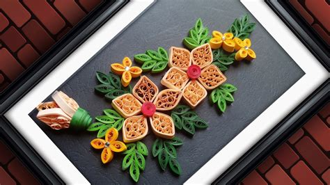 craft work for home decoration quilling designs wall decorating ideas diy paper