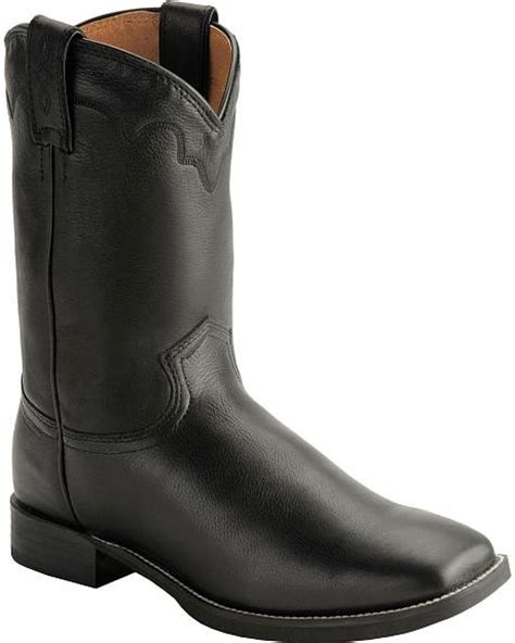 justin boots square toe justin stede roper cowboy boots square toe sheplers