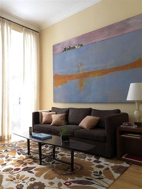 Sofa Types Decorate With Large Artwork