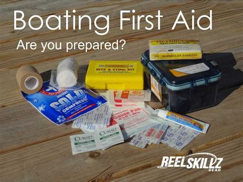 boat first aid kit do you carry a first aid kit while boating or fishing it