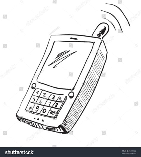 doodle draw windows phone school mobile phone icon drawing sketch