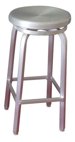 31 Inch Swivel Bar Stools by 31 Inch Indoor Outdoor Backless Aluminum Swivel Seat Bar