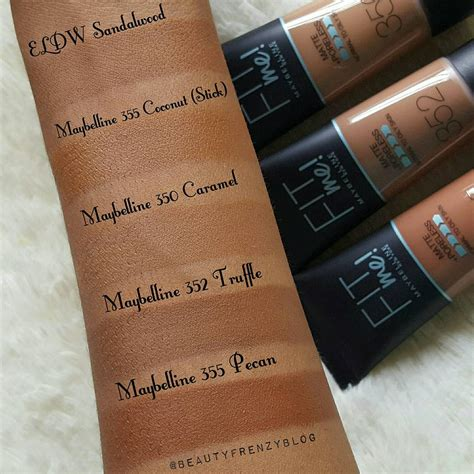 Maybelline Superstay Matte Foundation maybelline fit me matte poreless foundation review