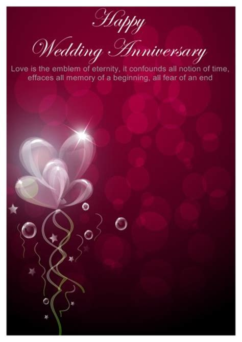 word anniversary card template flory cards a great site