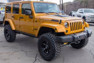 2014 custom jeep wrangler unlimited rubicon d edition