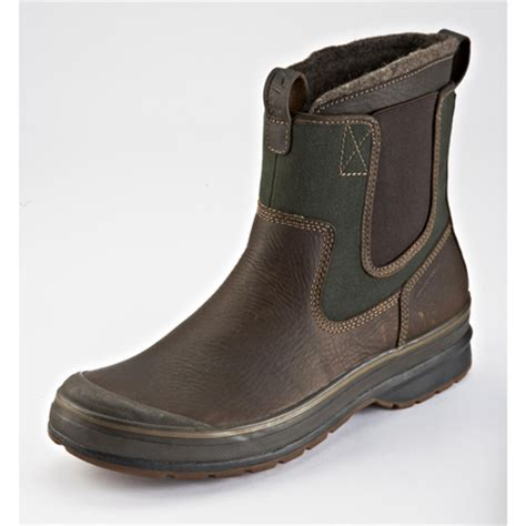 mens leather winter boots canada clarks 174 ruckus melee leather winter boot for sears