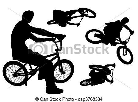 etiquetas barrio bmx deporte publicidad view image bmx siluetas de ciclistas en sus bicicletas bmx santy
