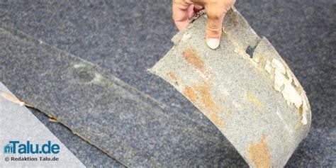 teppich schneiden verklebten teppichboden teppichkleber selbst entfernen