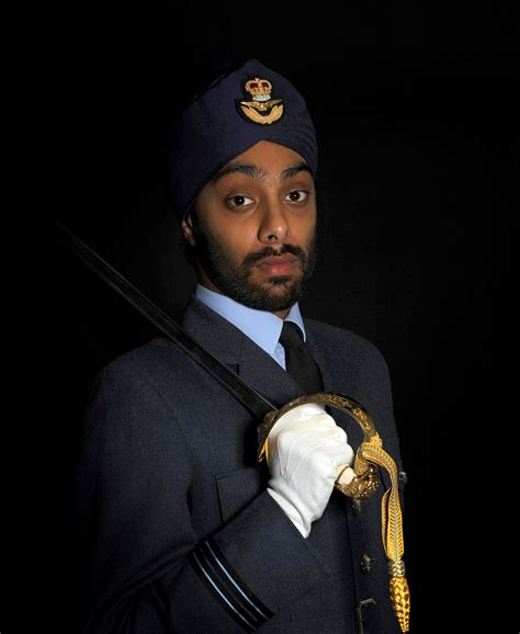 Air Officer by File Sikh Royal Air Officer Mod 45154463 Jpg
