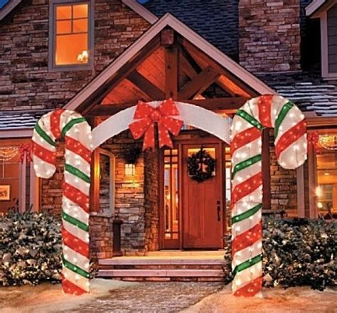 Large Outdoor Christmas Decorations Decor Love Large Lighted Outdoor Decorations