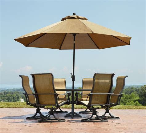 patio set umbrella elizahittman patio umbrella set oakland living