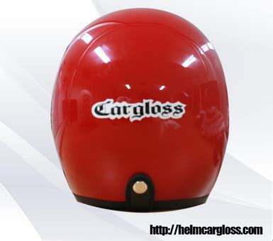 Helm Retro Cargloss Green Doff cargloss retro helm motor
