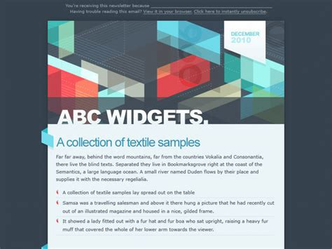 50 Useful And Free Html Newsletter Templates Smashingapps Com Two Column Html Email Template
